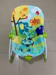 Cadeira balanço para bebê - semi  nova
