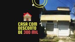 Casa com desconto de 300 MIL no bairro Céu Azul
