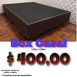 Título do anúncio: Box de casal 138x188