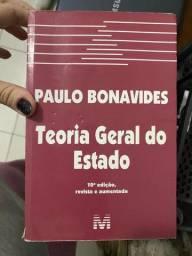 Título do anúncio: Livros Estado e Ciência política