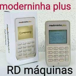 Moderninha plus PagSeguro Nova com chip