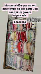 Colmeias pra organização de roupas