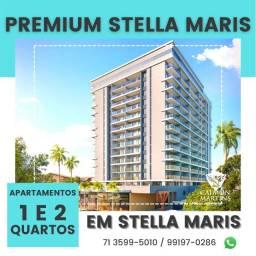Título do anúncio: Premium Stella Maris - 1/4 com suíte e varanda - Super Oportunidade