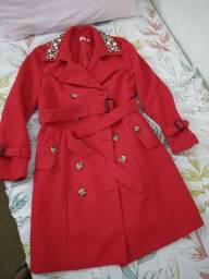 Roupa de luxo , casaco Europeu.