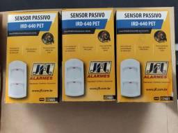 3 unidades - Sensor Infravermelho Passivo Duplo Ird 640 30kg Com Fio JFL