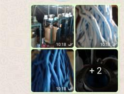 Título do anúncio: Vendo máquinas de fabricar rabico,Xuxa pra cabelos.