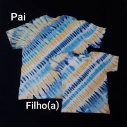 Presente dia dos pais: camisas pais e filhos