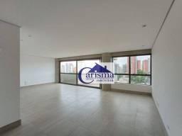 Título do anúncio: Apartamento com 3 suítes para alugar, 155 m² por R$ 4.500/mês - Vila Alpina - Santo André/