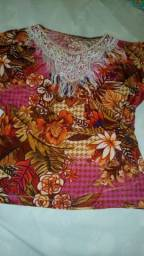 Blusa de estampa