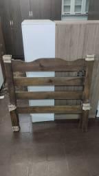 Título do anúncio: Cama de solteiro madeira