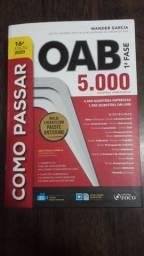 Livro como passar na OAB