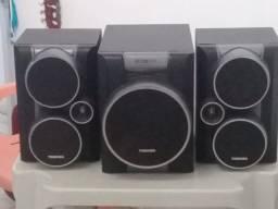 Título do anúncio: 3 Caixas de som Toshiba