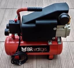 Título do anúncio: Vendo Compressor de Ar Portátil 5,6 8Litros 120lbs Rdc-220v Br Motors