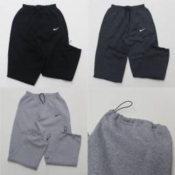 Título do anúncio: Promoção Calça Nike Moletom 3 Cabos ( Grosso ) Tam: M, G, GG, XG