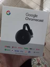 Título do anúncio: Google Chromecast novo