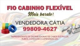 Título do anúncio: Fio Cabinho Flexível 2,5mm Marca Cobrecom