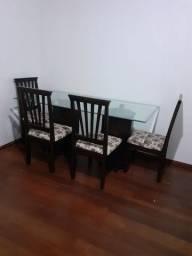 Título do anúncio: Rack e mesa c/ 6 cadeiras