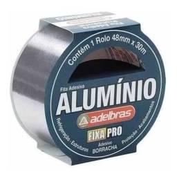 Título do anúncio: Fita De Alumínio Adelbras Profissional Universal 48mm X 30 M<br><br>