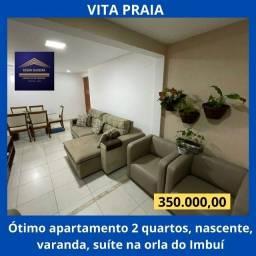 Título do anúncio: Ótimo apartamento 2 quartos, nascente, varanda e suite - Resid. Vita Praia