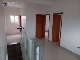 Título do anúncio: Sobrado com 2 dormitórios à venda, 48 m² por R$ 220.000,00 - Tupi - Praia Grande/SP