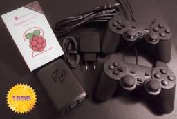 Título do anúncio: Vídeo Game Retro Raspberry Pi2 (Lite 16gb) Recalbox C/ 2 Controles