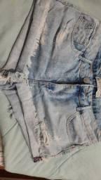 Título do anúncio: Short jeans claro boyfriend 38