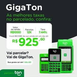 Título do anúncio: Maquininhas de cartão Ton Stone Gigaton