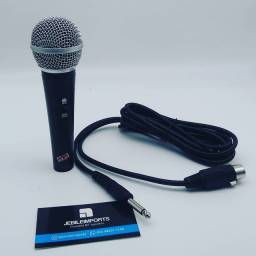 Microfone SM58 profissional com fio//só hoje entrega grátis