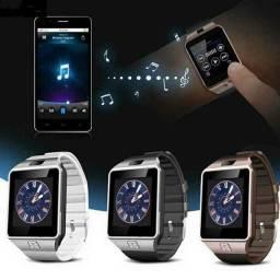 Relógio Smartwatch DZ09 - atenda ligações sem pegar no celular ?!<br>