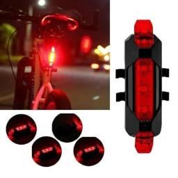 Sinalizador Bike Bicicleta Recarregável
