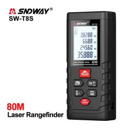 Título do anúncio: Trena Laser SNDWay 80 Metros, entrega p/ outros estados (Novo)