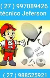 Título do anúncio: técnico de antenas em geral