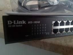 Título do anúncio: D-LINK modelo:DES-1024A