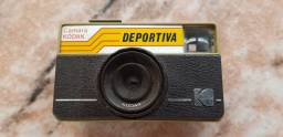 Título do anúncio: Câmera Kodak Deportiva fabricada no Brasil Raridade