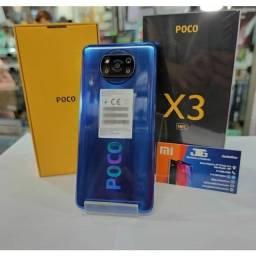 Celular xiaomi Poco X3 6GB de RAM e 128GB de armazenamento bom lacrado