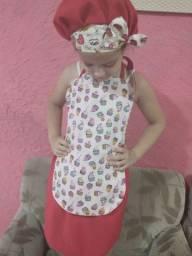 Kit  Avental infantil