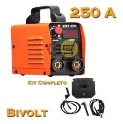 Título do anúncio: Máquina De Solda Inversora Profissional 250a Bivolt - Novo