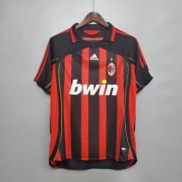 Camisa Retrô Milan 2006-07 Home