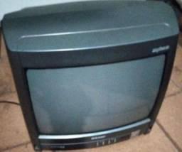 Título do anúncio: Tv de tubo cm dvd e receptor