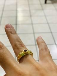 Título do anúncio: anel de formatura em ouro 18/750