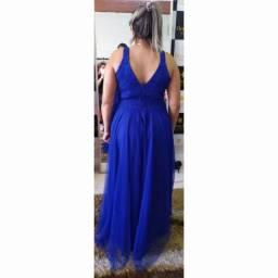 Título do anúncio: Vestido longo de festa Azul Royal