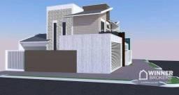 Sobrado com 3 dormitórios à venda, 147 m² por R$ 645.000,00 - Santa Casa - Goioere/PR