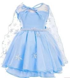 Título do anúncio: Lindo vestido frozen novo tam 4