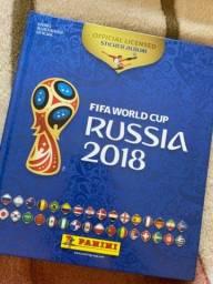 Álbum de figurinhas Copa do Mundo 2018 - Rússia Completo