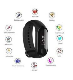 Relógio Smart Fitness Monitore Pelo Celular M3