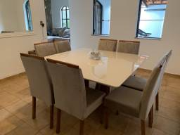 Lindo conjunto de mesa 8 lugares