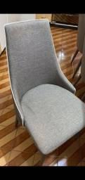 Título do anúncio: Mesa com 06 cadeiras
