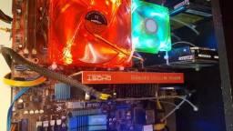 Placa De Vídeo Xfx Hd R7770 Core Edition
