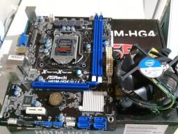Placa mãe Asrock-H61M 1155 +Processador i5-3330 3° Geração Conservadíssimo