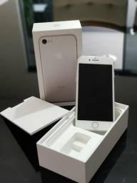 Iphone Prata 7 32 Gb impecável